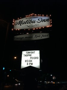 THORNE:The Malibu Inn Show
