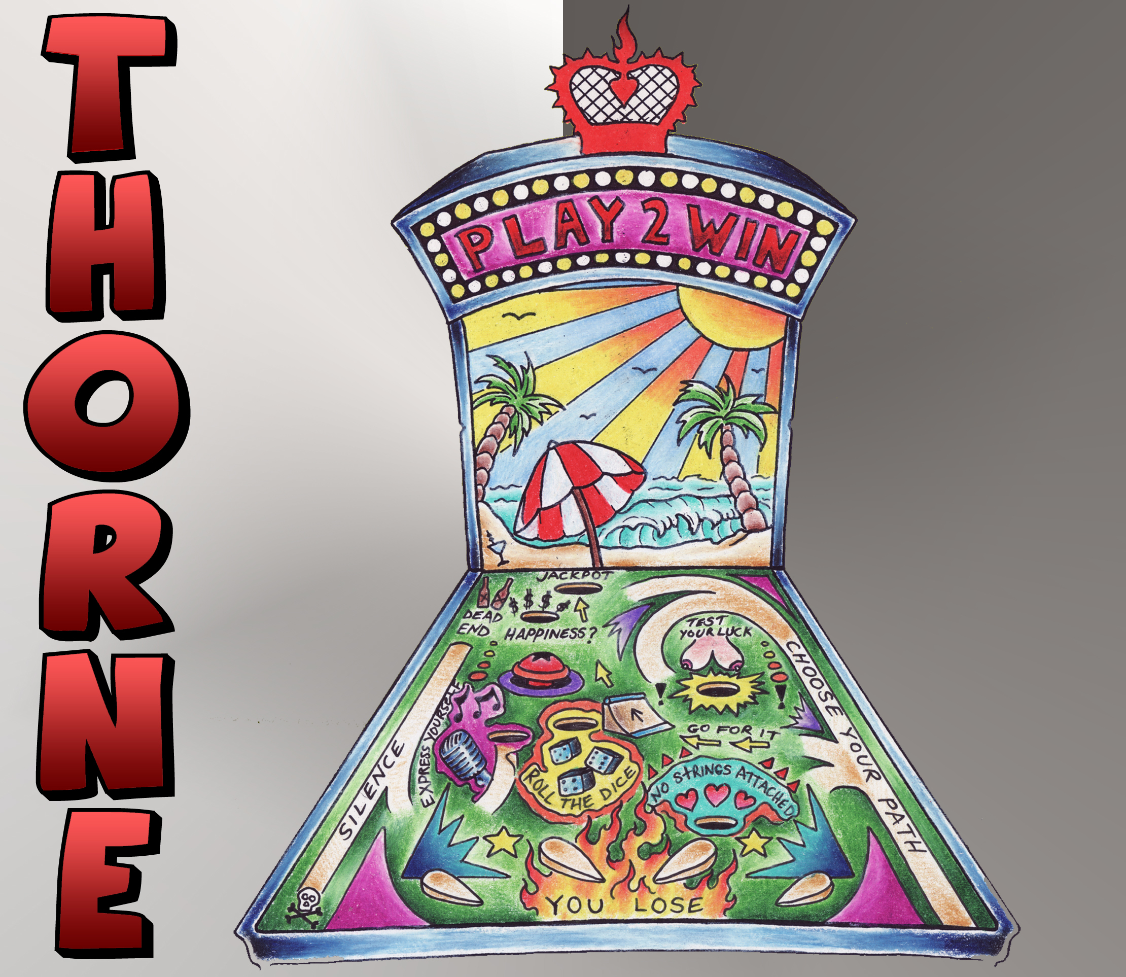 THORNE:Play 2 Win EP Cover 2013