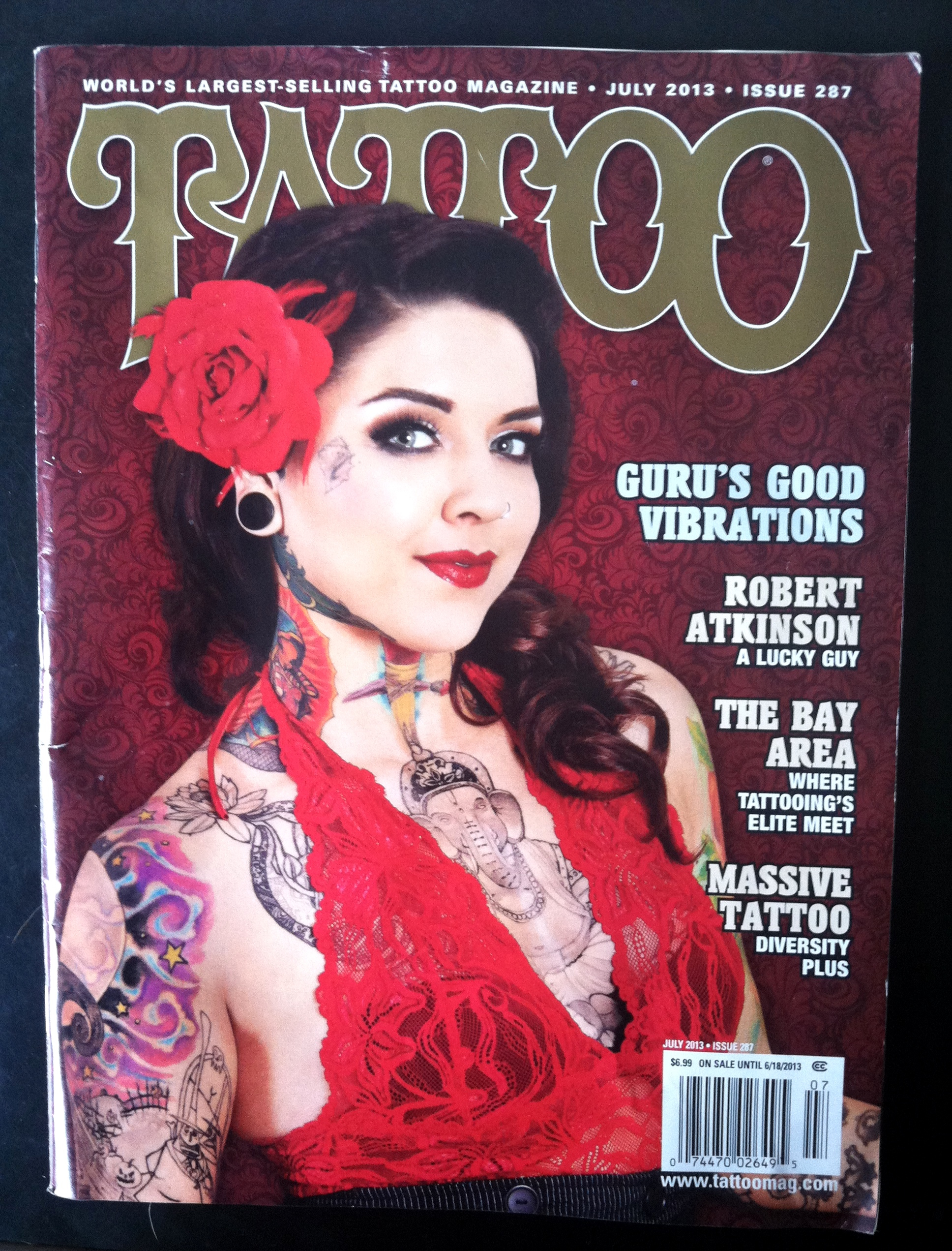Tattoo Magazine Juy 13